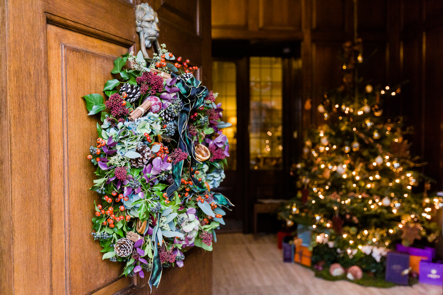 Luxury Christmas Wreath Making With Fabienne Egger